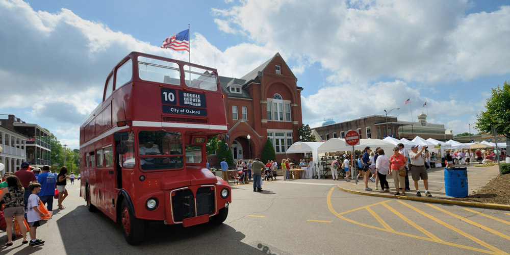 Double Decker Arts Fest Schedule