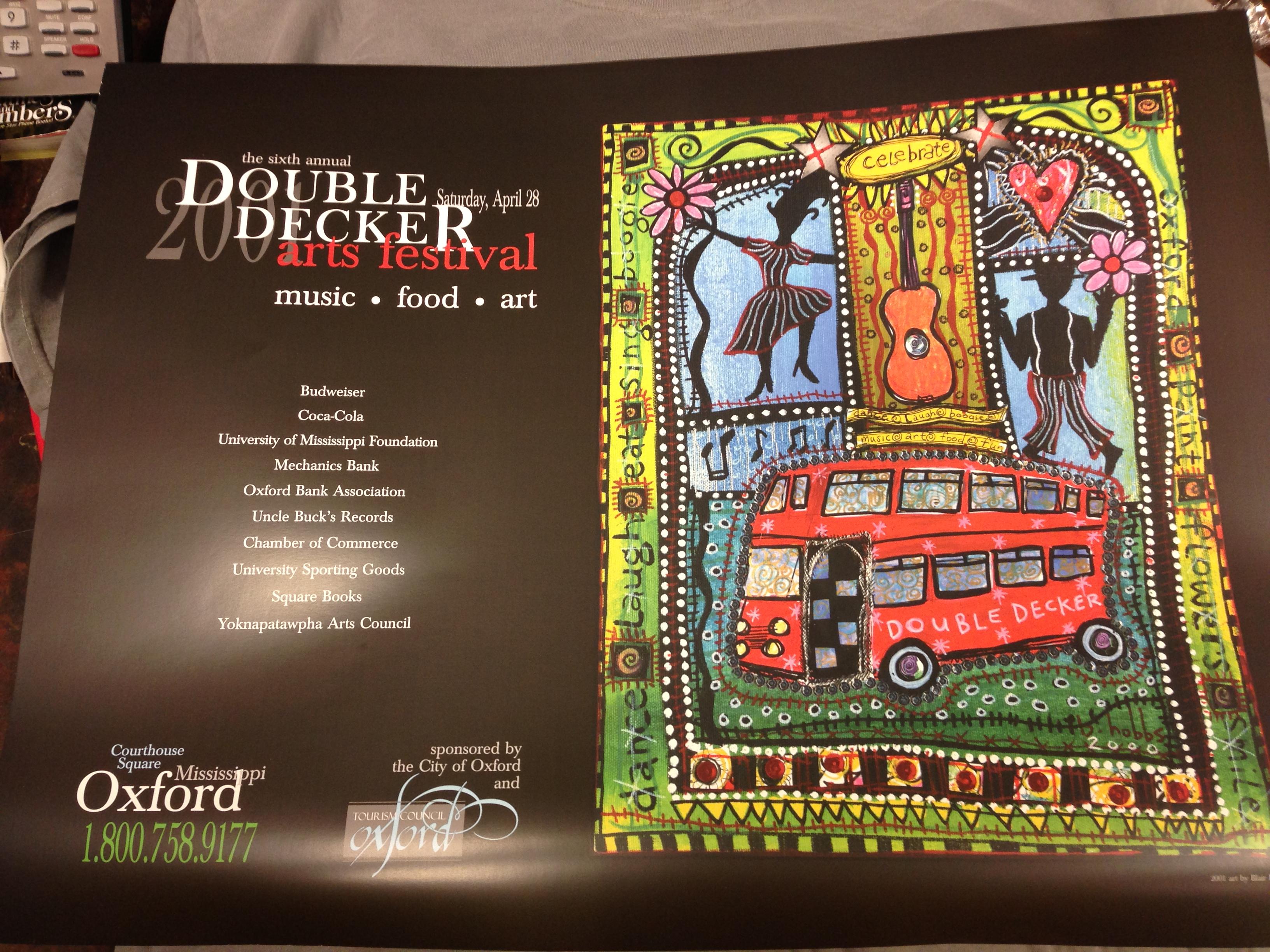 2001 Festival Poster