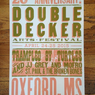 20th Anniversary Hatch Show Press Print